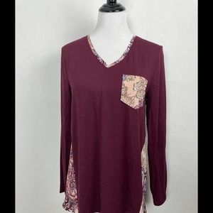 Chicos KnitTop sz Large
